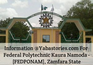 FEDPONAM Admission List