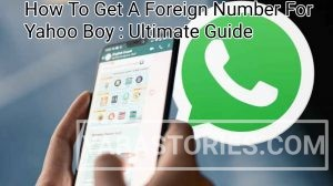 Foreign Number On WhatsApp